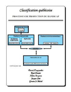 Image de la couverture de la Classification québécoise