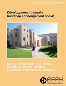 Couverture de la revue Assurer l'implantation et le respect des droits humains: réponses gouvernementales et communautaires