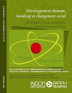 Couverture de la revue Les conceptions du rétablissement en santé mentale : recherches identitaires, interdépendances et changements sociaux