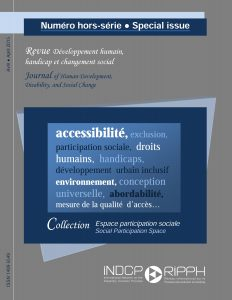 Cover of the issue Collection Espace participation sociale