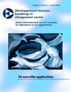 Cover of the issue De nouvelles applications
