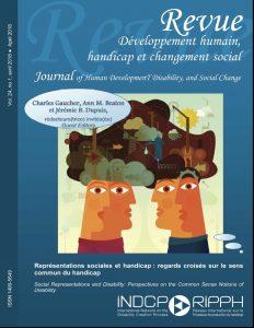 Couverture de revue - Représentations sociales et handicap : regards croisés sur le sens commun du handicap